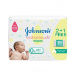 Johnson's Baby Cotton Touch 168 Wipes 2+1 Free
