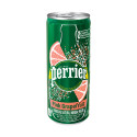 Perrier Natural Sparkling Water Pink Grapefruit Flavor 250ml