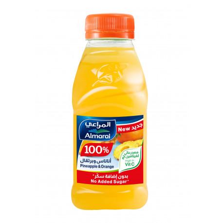 Almarai Juice Pineapple Orange & Grape 200ml Nsa