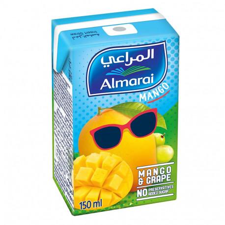 Almarai Uht Nectar Mango & Grape 150ml