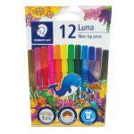 Luna Fibre-Tipped Pen 12col
