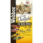 Webbox Cat Sticks Mini Mix 30g