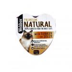 Webbox Natural Cat Heart Turkey in Jelly 85g