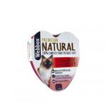 Webbox Natural Cat Heart Beef in Gravy 85g