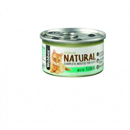 Webbox Natural Cat Mousse Tuna 85G