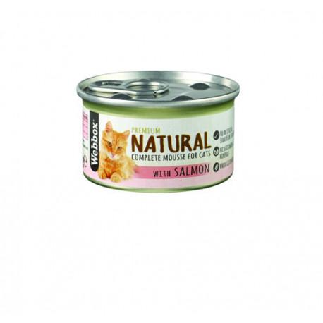 Webbox Natural Cat Mousse Salmon 85G