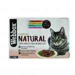 Webbox Natural Cat Mixed Jelly Selection 12x100g