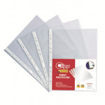 Clip A4 Sheet Glass Protector Clear 100 Pieces