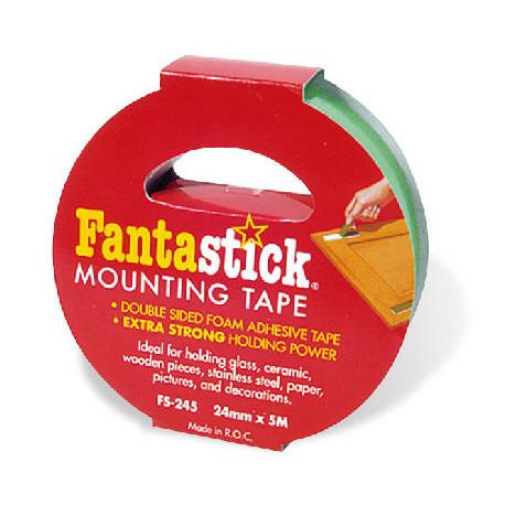 "Mounting Tape 1""x5m Box 12rol"