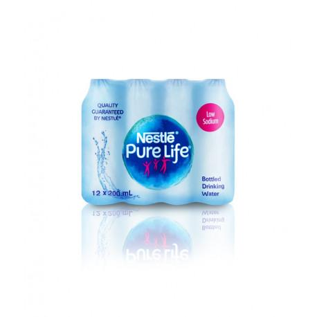 Nestle Pure Life Drinking Bottel Water 200ml x12