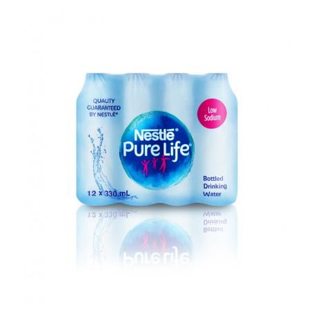 Nestle Pure Life Drinking Bottel Water 330mlx12