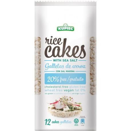 Kupiec Thin Rice Cakes with Sea Salt 120g