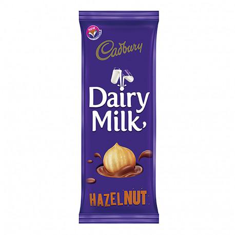 Cadbury Dairy Milk Chocolate With Hazelnuts 90g
