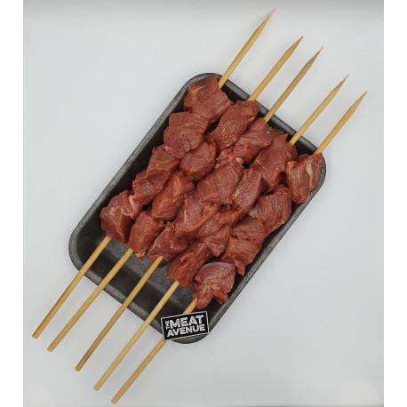 AUS Beef Grass Fed Tenderloin Skewers 500 gm