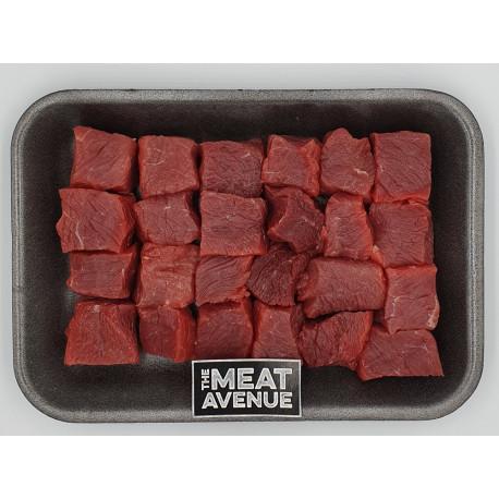 Beef Cubes Striploin 500 gm