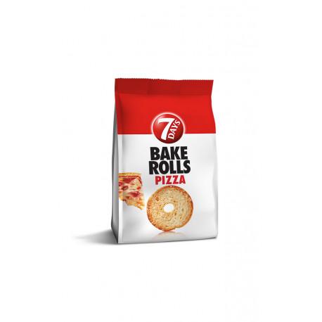7D BAKED ROLLS PIZZA 80G