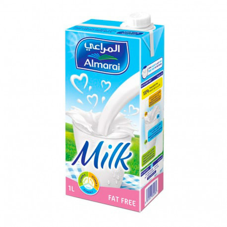 Almarai Milk Long Life Fat Free 1L