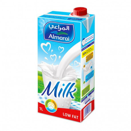 Almarai Long Life Milk Low fat 1L