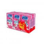 Almarai Nijoom Strawberry Flavored Milk 150ml 4pcs + 2 Free