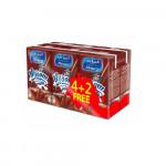 Almarai Nijoom Chocolate Milk Drink 150ml 4pcs + 2 Free