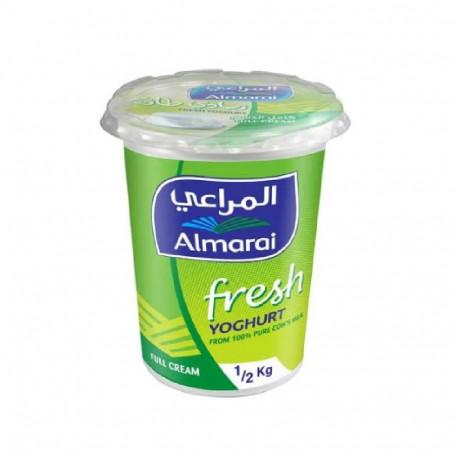 Almarai Fresh Yoghurt Full Fat 500gm