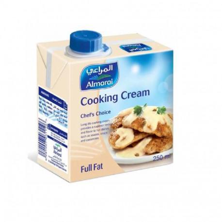 Almarai Full Fat Cooking Cream 250ML