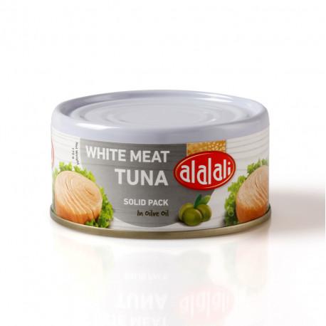 Al Alali White Meat Tuna Solid Pack in Olive Oil 170g