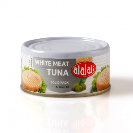 Al Alali White Meat Tuna Solid Pack in Olive Oil 170g