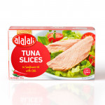 Al Alali Tuna Slices In Sunflower Oil With Chili 100g