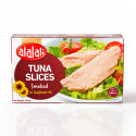 Al Alali Smoked White Tuna Slices in Sunflower Oil 100g