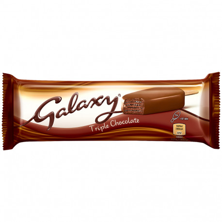 Galaxy Triple Chocolate Stick Ice Cream 100ml