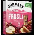 Jordans Frusli Tasty Cranberries & Apple Slices Cereal Bars 6x30g