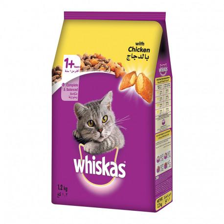 Whiskas With Chicken 1.2kg