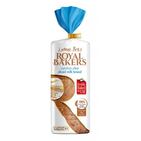 Royal Bakers Sliced Milk Bread Large 600G