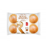 Royal Bakers White Burger Buns 6 Pieces 360G