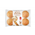 Royal Bakers White Sesame Burger Buns 6 Pieces 360G