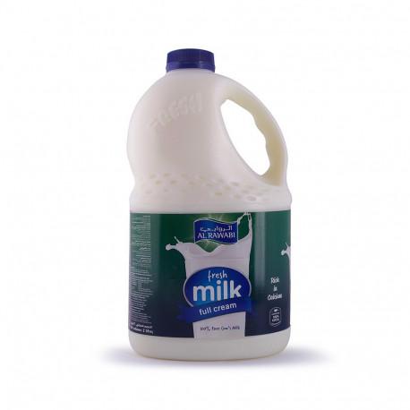Al Rawabi Fresh Milk Full Fat 2L