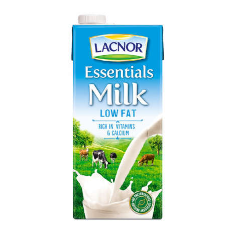 Lacnor Long Life Milk Low Fat 1L