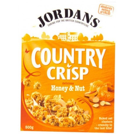 Jordans Country Honey & Nut 500g