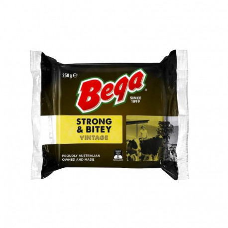 Beqa Strong And Bitey Cheddar Block 250g