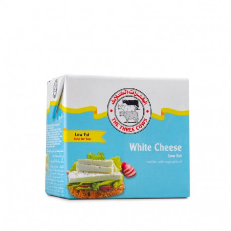 Three Cows Danish White Feta Cheese Low 9% Fat 500g