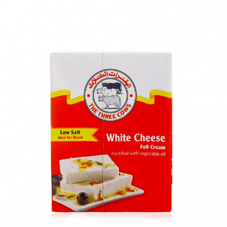 Three Cows Danish White Feta Cheese Low Salt 200g