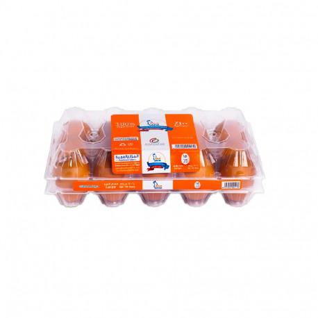 Saha Extra Fresh 15 Brown Eggs
