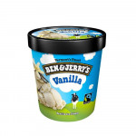 Ben & Jerry's Ice-Cream Vanilla 473ml