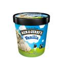 Ben & Jerry's Vanilla Ice-Cream 473ML