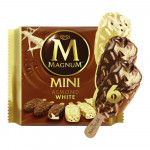 Magnum Mini Almond White Ice Cream 6x270g