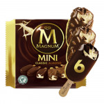 Magnum Mini Classic Almond Ice Cream 6x60ml