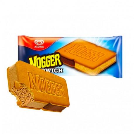 Algida Nogger Sandwich Ice Cream 82g