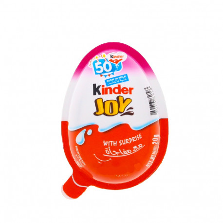 Kinder Joy with Surprise for Girls 20g