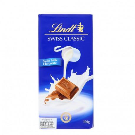 Lindt Swiss Classic Milk Chocolate 100g